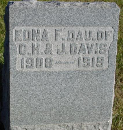 DAVIS, EDNA F. - Woodbury County, Iowa | EDNA F. DAVIS