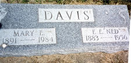 DAVIS, F. E.