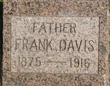 DAVIS, FRANK - Woodbury County, Iowa | FRANK DAVIS