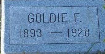 DAVIS, GOLDIE F. - Woodbury County, Iowa | GOLDIE F. DAVIS