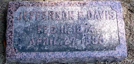 DAVIS, JEFFERSON E. - Woodbury County, Iowa | JEFFERSON E. DAVIS