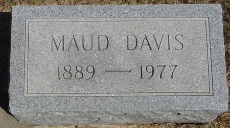 DAVIS, MAUD - Woodbury County, Iowa | MAUD DAVIS