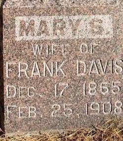 DAVIS, MARY S. - Woodbury County, Iowa | MARY S. DAVIS