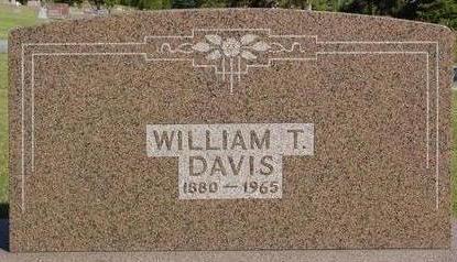 DAVIS, WILLIAM T. - Woodbury County, Iowa | WILLIAM T. DAVIS