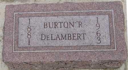 DELAMBERT, BURTON R. - Woodbury County, Iowa | BURTON R. DELAMBERT