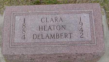 DELAMBERT, CLARA - Woodbury County, Iowa | CLARA DELAMBERT