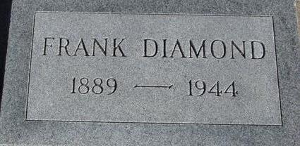 DIAMOND, FRANK - Woodbury County, Iowa | FRANK DIAMOND