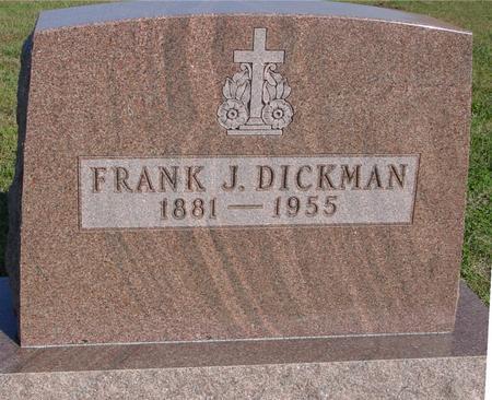 DICKMAN, FRANK - Woodbury County, Iowa | FRANK DICKMAN