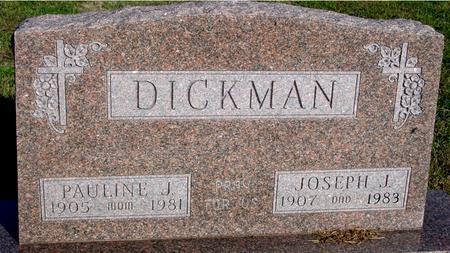 DICKMAN, JOSEPH J. - Woodbury County, Iowa | JOSEPH J. DICKMAN