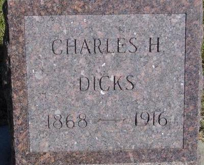 DICKS, CHARLES H. - Woodbury County, Iowa | CHARLES H. DICKS