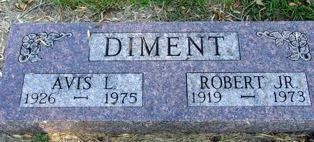 DIMENT, ROBERT & AVIS - Woodbury County, Iowa | ROBERT & AVIS DIMENT