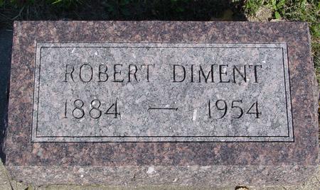 DIMENT, ROBERT - Woodbury County, Iowa | ROBERT DIMENT
