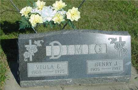 DIMIG, HENRY & VIOLA - Woodbury County, Iowa | HENRY & VIOLA DIMIG
