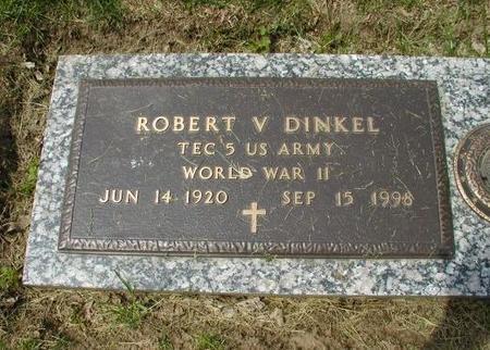 DINKEL, ROBERT VALENTINE - Woodbury County, Iowa   ROBERT VALENTINE DINKEL