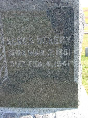 DONERY, AGNES - Woodbury County, Iowa | AGNES DONERY