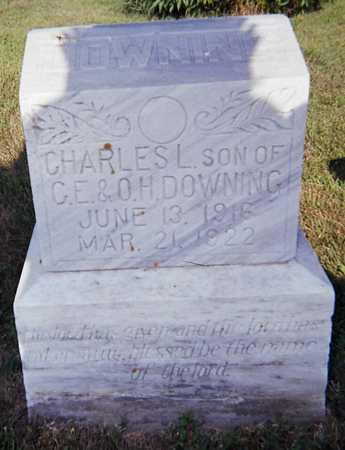 DOWNING, CHARLES LOUIS - Woodbury County, Iowa   CHARLES LOUIS DOWNING