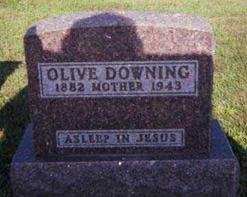 DOWNING, OLIVE HEPSIBETH - Woodbury County, Iowa | OLIVE HEPSIBETH DOWNING