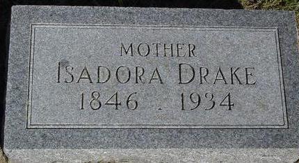 DRAKE, ISADORE - Woodbury County, Iowa | ISADORE DRAKE