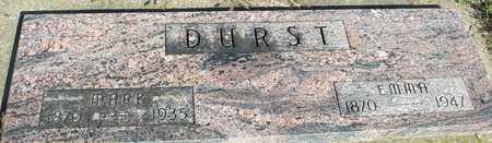DURST, MARK & EMMA - Woodbury County, Iowa | MARK & EMMA DURST