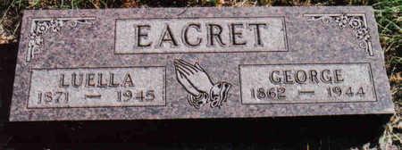MORSE EACRET, LUELLA - Woodbury County, Iowa | LUELLA MORSE EACRET