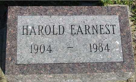 EARNEST, HAROLD - Woodbury County, Iowa | HAROLD EARNEST