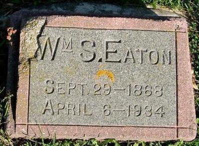 EATON, WILLIAM S. - Woodbury County, Iowa   WILLIAM S. EATON