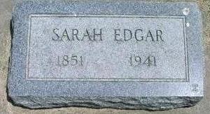 EDGAR, SARAH - Woodbury County, Iowa | SARAH EDGAR