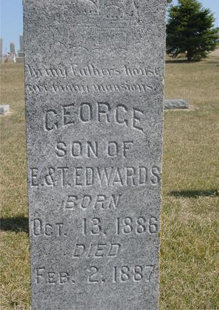 EDWARDS, GEORGE - Woodbury County, Iowa   GEORGE EDWARDS