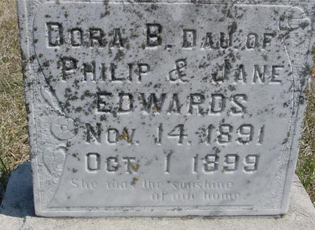 EDWARDS, DORA B. - Woodbury County, Iowa   DORA B. EDWARDS