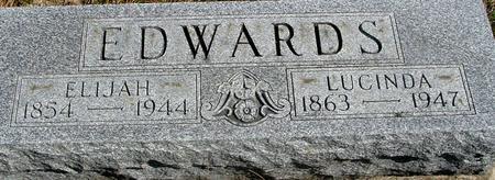 EDWARDS, ELIJAH & LUCINDA - Woodbury County, Iowa | ELIJAH & LUCINDA EDWARDS