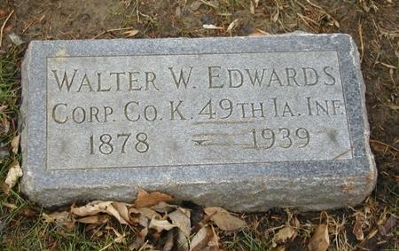 EDWARDS, WALTER W - Woodbury County, Iowa | WALTER W EDWARDS