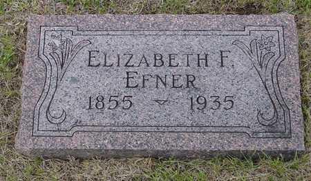 EFNER, ELIZABETH - Woodbury County, Iowa | ELIZABETH EFNER