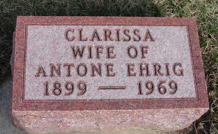 EHRIG, CLARISSA - Woodbury County, Iowa | CLARISSA EHRIG
