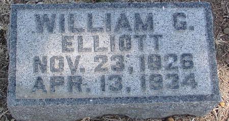ELLIOTT, WILLIAM G. - Woodbury County, Iowa   WILLIAM G. ELLIOTT