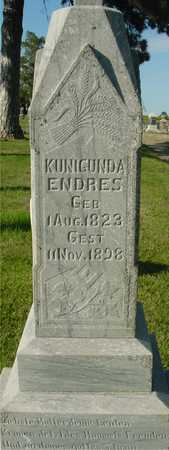 ENDRES, KUNIGUNDA - Woodbury County, Iowa | KUNIGUNDA ENDRES