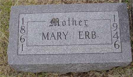 WINTER ERB, MARY MARTHA - Woodbury County, Iowa | MARY MARTHA WINTER ERB