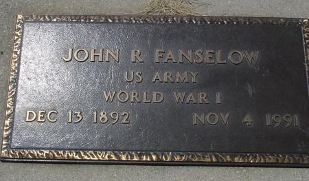 FANSELOW, JOHN  R. - Woodbury County, Iowa | JOHN  R. FANSELOW