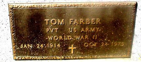 FARBER, TOM - Woodbury County, Iowa   TOM FARBER