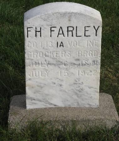 FARLEY, FRANCIS H. - Woodbury County, Iowa | FRANCIS H. FARLEY
