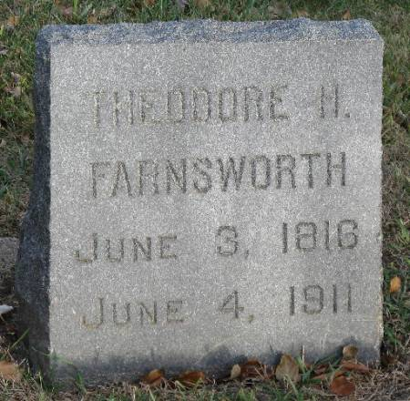 FARNSWORTH, THEODORE H. - Woodbury County, Iowa | THEODORE H. FARNSWORTH