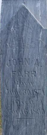 FARR, JOHN A. - Woodbury County, Iowa | JOHN A. FARR