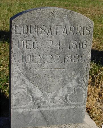FARRIS, LOUISA - Woodbury County, Iowa | LOUISA FARRIS