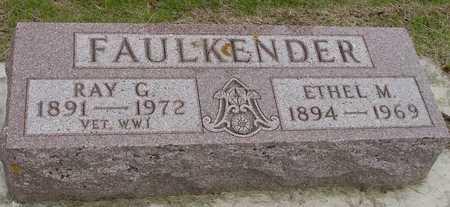 FAULKENDER, RAY & ETHEL - Woodbury County, Iowa   RAY & ETHEL FAULKENDER