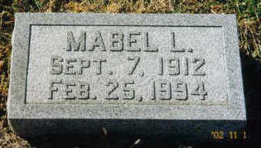 FELDTMANN, MABEL L. - Woodbury County, Iowa | MABEL L. FELDTMANN