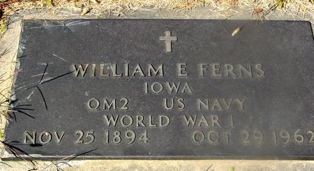 FERNS, WILLIAM E. - Woodbury County, Iowa   WILLIAM E. FERNS