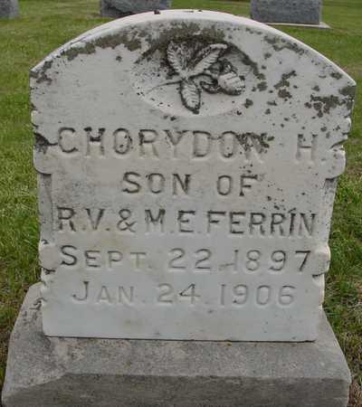 FERRIN, CHORYDON H. - Woodbury County, Iowa | CHORYDON H. FERRIN