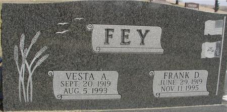 FEY, FRANK & VESTA - Woodbury County, Iowa | FRANK & VESTA FEY