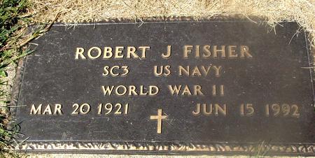 FISHER, ROBERT J. - Woodbury County, Iowa   ROBERT J. FISHER