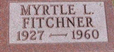 FITCHNER, MYRTLE F. - Woodbury County, Iowa | MYRTLE F. FITCHNER
