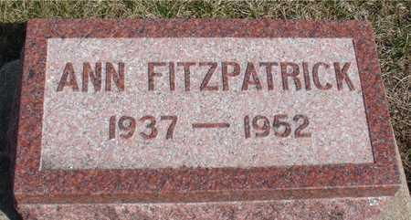 FITZPATRICK, ANN - Woodbury County, Iowa | ANN FITZPATRICK